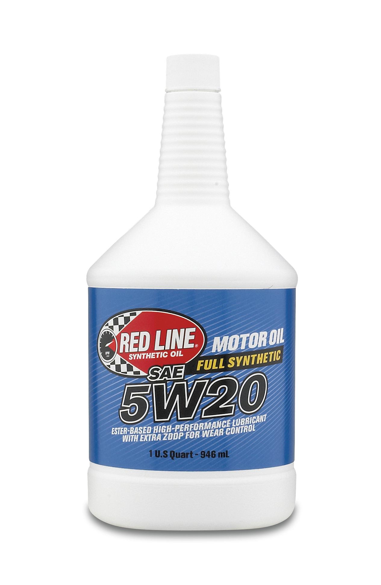 レッドラインオイル REDLINEオイル エンジンオイル 5w20 1USQUART